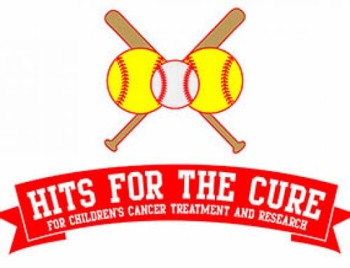 Winding up for Hits for the Cure